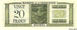 20 Francs NOUVELLE CALÉDONIE  1944 P.49 SUP+