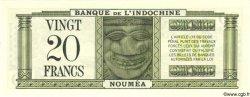 20 Francs NOUVELLE CALÉDONIE  1944 P.49 NEUF