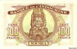 100 Francs NOUVELLE CALÉDONIE  1942 P.44s SPL