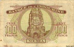 100 Francs NOUVELLE CALÉDONIE  1943 P.46a TB+