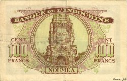 100 Francs NOUVELLE CALÉDONIE  1943 P.46a TTB
