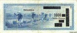 1000 Francs NOUVELLE CALÉDONIE  1943 P.45 B+