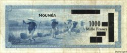1000 Francs NOUVELLE CALÉDONIE  1943 P.45 TB