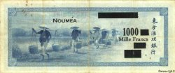 1000 Francs NOUVELLE CALÉDONIE  1944 P.47b TB