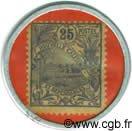 25 Centimes NOUVELLE CALÉDONIE  1922 P.28 SPL
