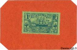 1 Franc sur carton NOUVELLE CALÉDONIE  1914 P.26 NEUF
