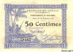 50 Centimes NOUVELLE CALÉDONIE  1919 P.33a SPL