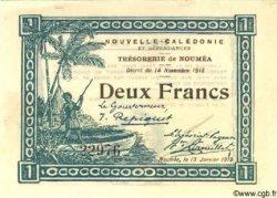 2 Francs NOUVELLE CALÉDONIE  1919 P.35a pr.NEUF