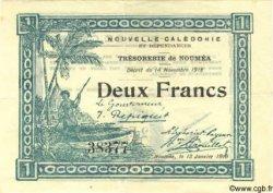 2 Francs NOUVELLE CALÉDONIE  1919 P.35b TTB+