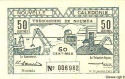 50 Centimes NOUVELLE CALÉDONIE  1942 P.51 SPL