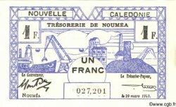 1 Franc NOUVELLE CALÉDONIE  1943 P.55b