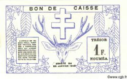 1 Franc NOUVELLE CALÉDONIE  1943 P.55b NEUF