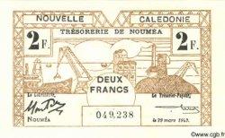 2 Francs NOUVELLE CALÉDONIE  1943 P.56b NEUF