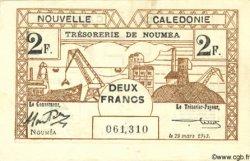 2 Francs NOUVELLE CALÉDONIE  1943 P.56a TTB+