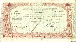 2000 Francs NOUVELLE CALÉDONIE  1876 P.- TTB