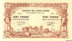 100 Francs TAHITI  1920 P.06b pr.SPL