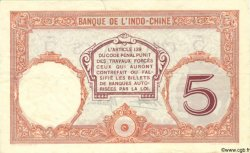 5 Francs TAHITI  1940 P.11c SUP