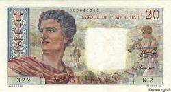 20 Francs TAHITI  1951 P.21a SPL+