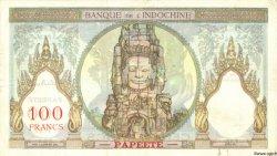 100 Francs TAHITI  1940 P.14b