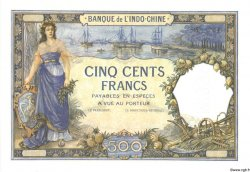 500 Francs TAHITI  1923 P.13bs NEUF