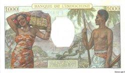 1000 Francs TAHITI  1957 P.15bs SPL