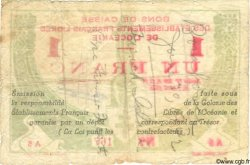 1 Franc TAHITI  1942 P.08