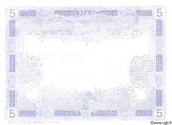 5 Francs DJIBOUTI  1905 P.- SPL