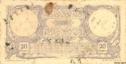 20 Francs DJIBOUTI  1910 P.02bs TTB