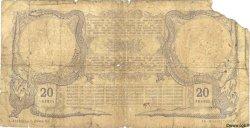 20 Francs DJIBOUTI  1921 P.04B AB