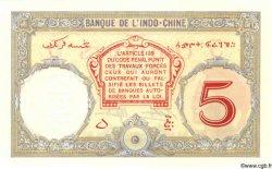 "5 Francs ""Walhain"" DJIBOUTI  1936 P.06bs NEUF"
