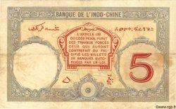 5 Francs DJIBOUTI  1936 P.06b TTB