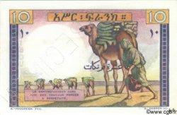 10 Francs type 1946 DJIBOUTI  1946 P.19s NEUF