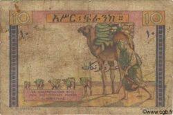 10 Francs type 1946 DJIBOUTI  1946 P.19 AB
