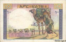 10 Francs DJIBOUTI  1946 P.19 TB