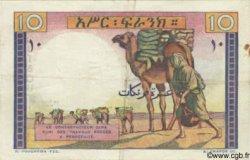10 Francs type 1946 DJIBOUTI  1946 P.19 TTB