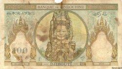 100 Francs type 1931 DJIBOUTI  1931 P.08 M