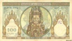 100 Francs type 1931 DJIBOUTI  1931 P.08 TB+