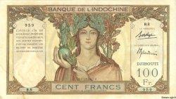 100 Francs DJIBOUTI  1931 P.08 TTB