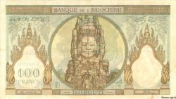 100 Francs type 1931 DJIBOUTI  1931 P.08 TTB
