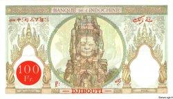 100 Francs type 1931 DJIBOUTI  1931 P.08 SPL