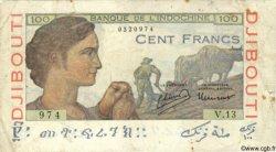 100 Francs DJIBOUTI  1946 P.19A