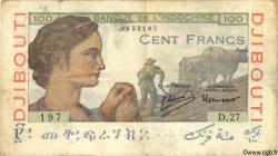 100 Francs DJIBOUTI  1946 P.19A TB+