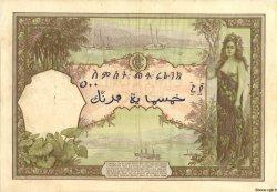 500 Francs type 1927 DJIBOUTI  1938 P.09b TTB+