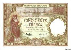 500 Francs DJIBOUTI  1938 P.09b pr.NEUF