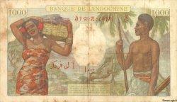 1000 Francs DJIBOUTI  1938 P.10 TB