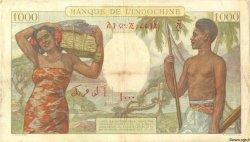 1000 Francs type 1938 DJIBOUTI  1938 P.10