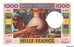 1000 Francs type 1947 DJIBOUTI  1947 P.20s pr.NEUF