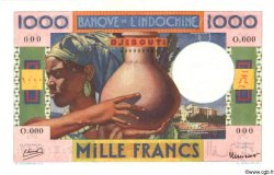 1000 Francs DJIBOUTI  1947 P.20s NEUF