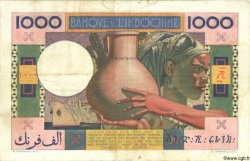 1000 Francs type 1947 DJIBOUTI  1947 P.20
