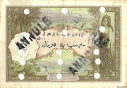 500 Francs type 1927 surchargé FC DJIBOUTI  1943 P.13Bs TB+